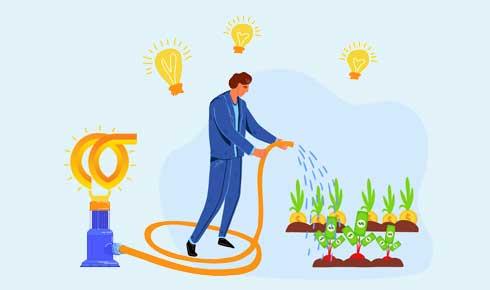 سرمایه گذاری روی ایده های جدید